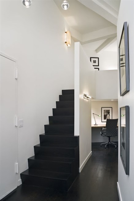 ديكورات-مرايا-امام-الدرج