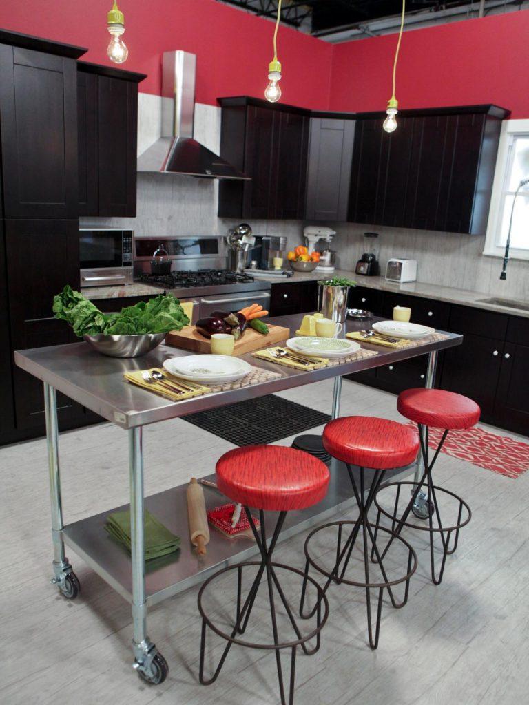 ديكورات-مطبخك-باللون-الأحمر