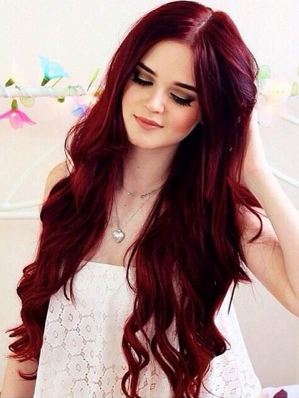 شعر-احمر