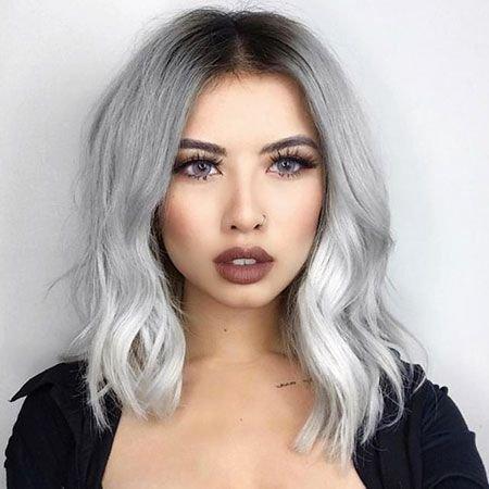 شعر-قصير-رمادي