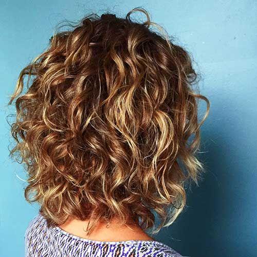 شعر-مجعد-قصير