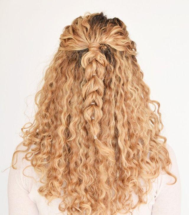 شعر-مجعد-مفرود