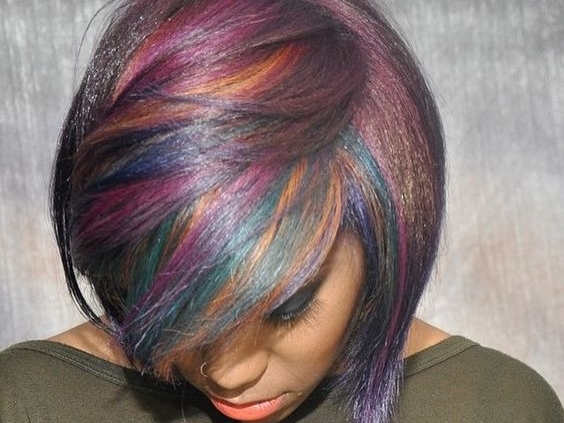 شعر-ملون