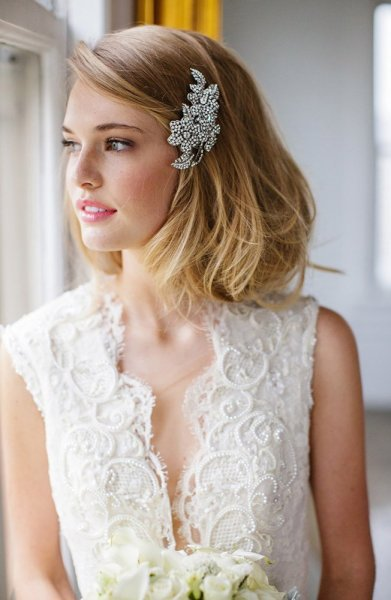 شعر-منسدل-للعروس