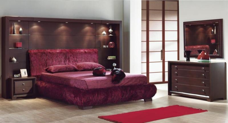 غرفة-بالوان-داكنة