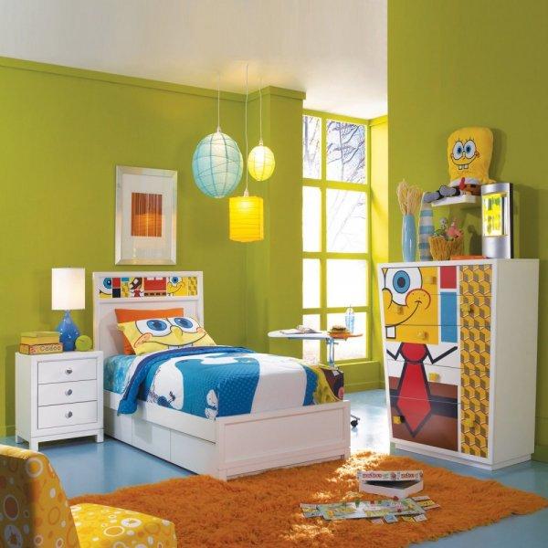 غرفة-برسومات-سبونج-بوب