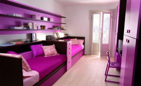 غرفة-بنات-بسريرين