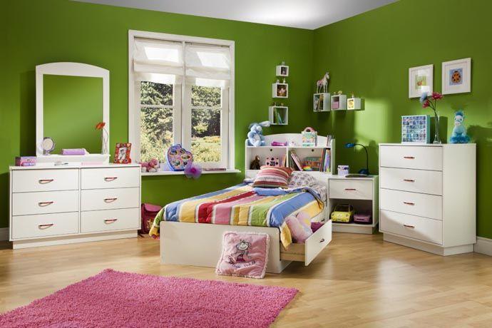 غرف-اطفال-بالاخضر-الداكن