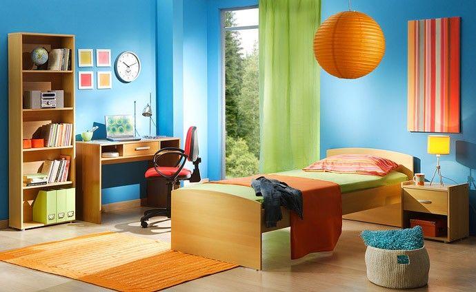 غرف-اطفال-باللون-الاخضر-والازرق