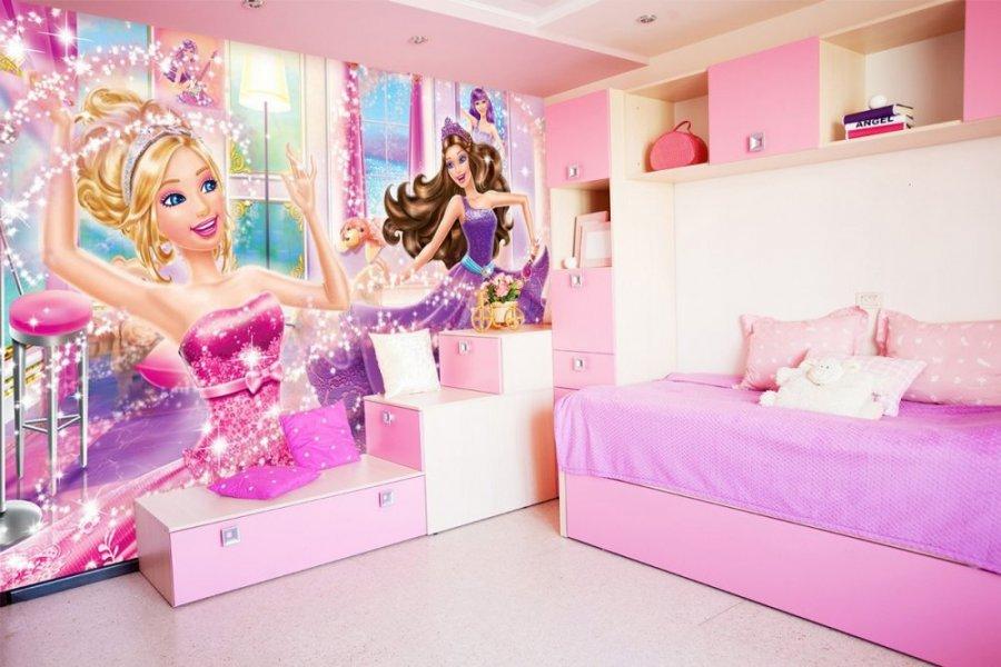 غرف-بنات-باربي