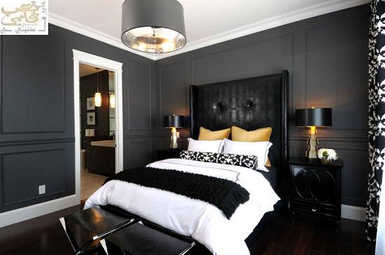 غرف-نوم-سوداء