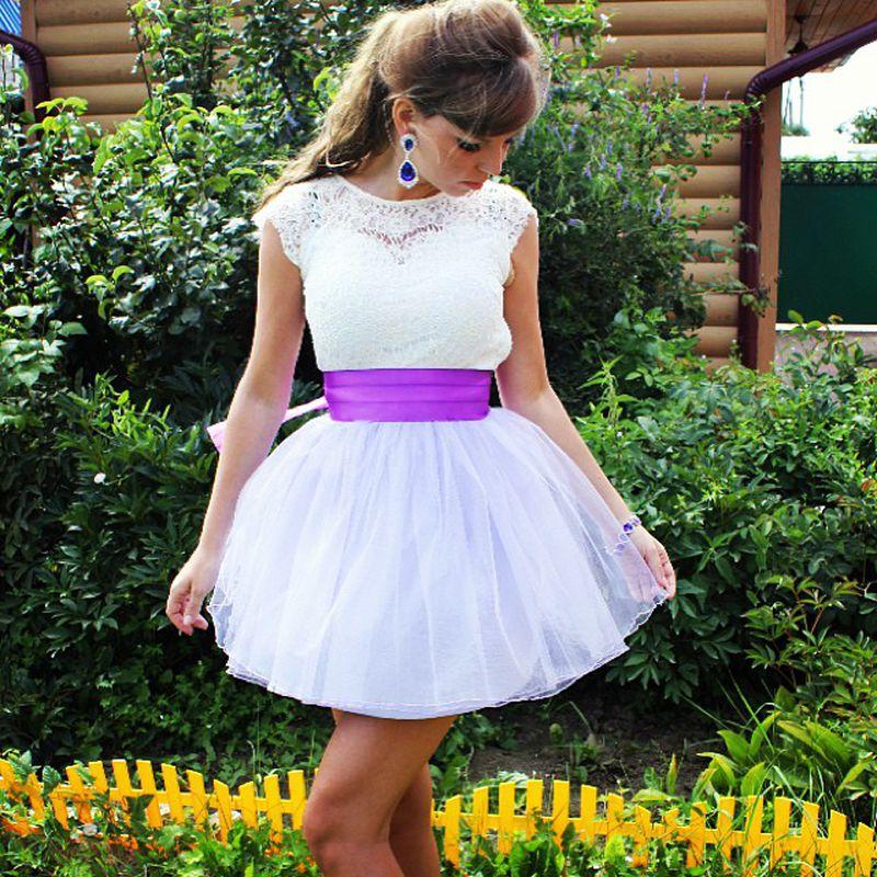 فستان-ابيض-قصير