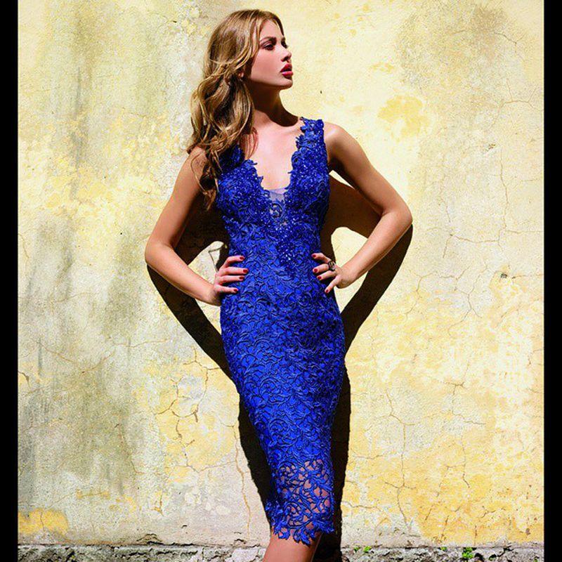 فستان-ازرق-للسهرة