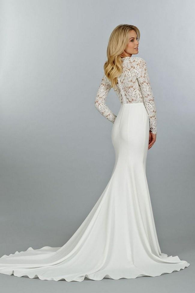 فستان-بذيل-طويل
