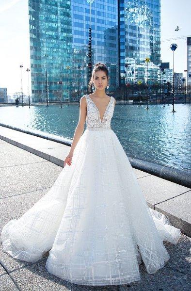 فستان-زفاف-حمالات