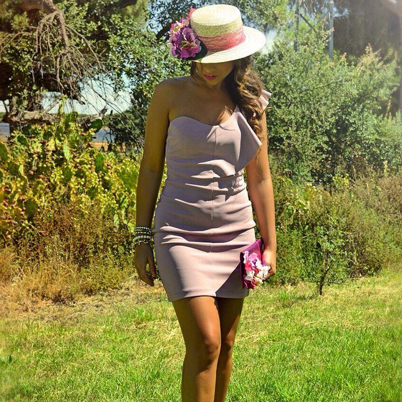 فستان-زهري-ناعم