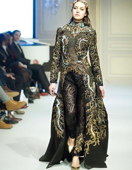 فستان-سهرة-اسود-مبتكر