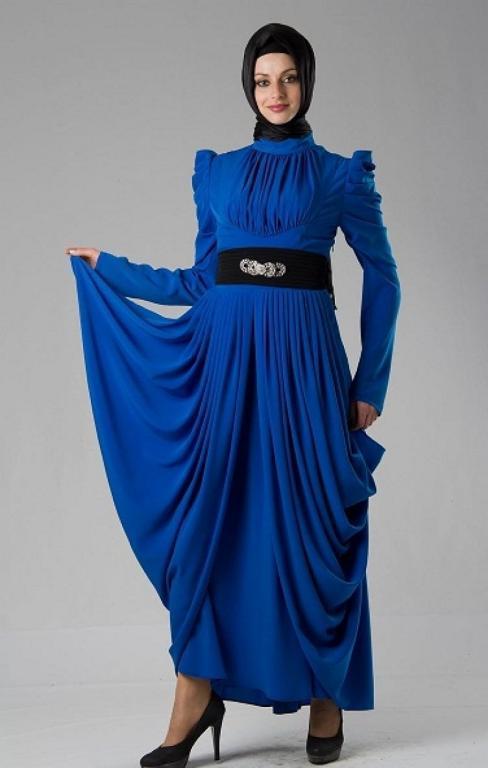 فستان-سهرة-بالحزام