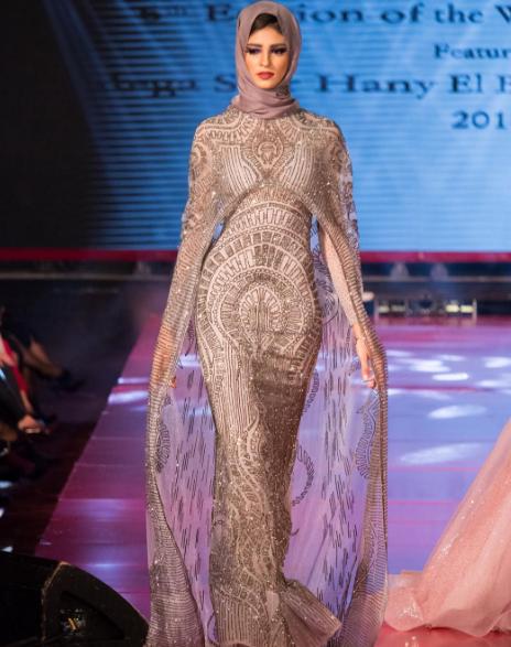 فستان-سهرة-للمحجبات-من-هاني-البحيري