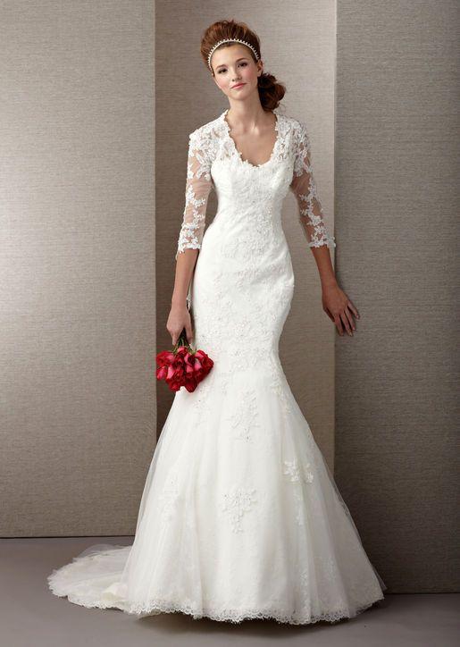 فستان-عروس بالدانتيل