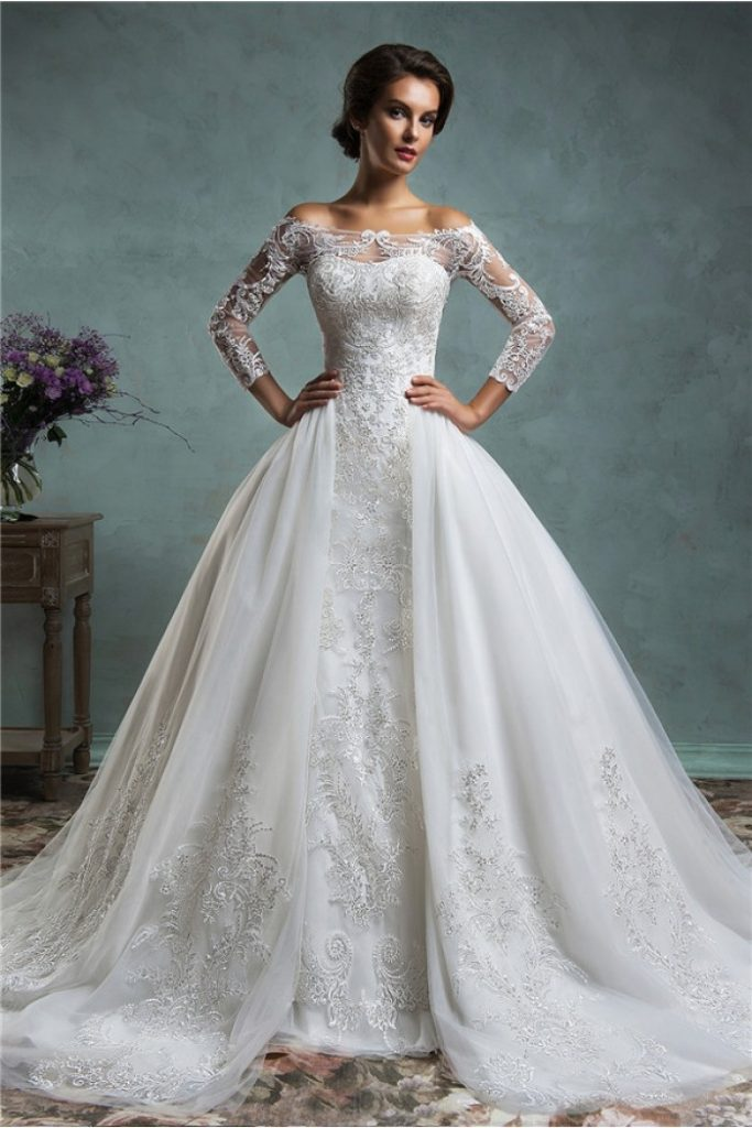 فستان-عروس-منفوش