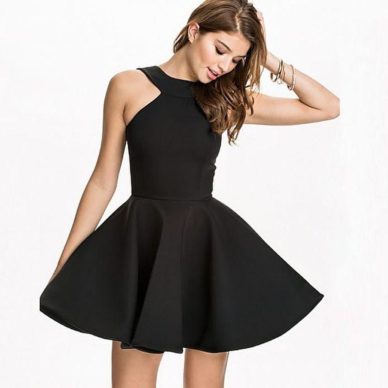 فستان-قصير-اسود