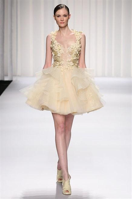 فستان-منفوش-بيج