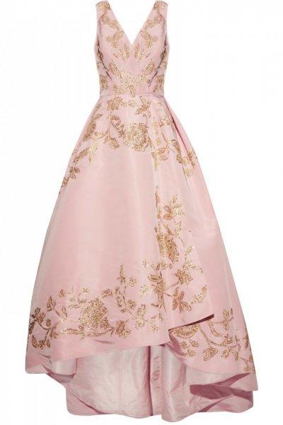 فستان-منفوش-للوصيفة