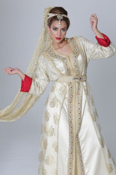 قفطان-عروس-مغربية