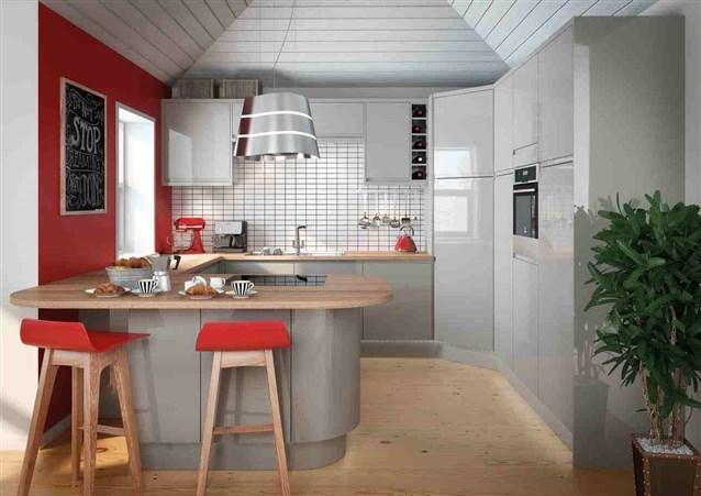 مطبخ-رمادي-في-احمر