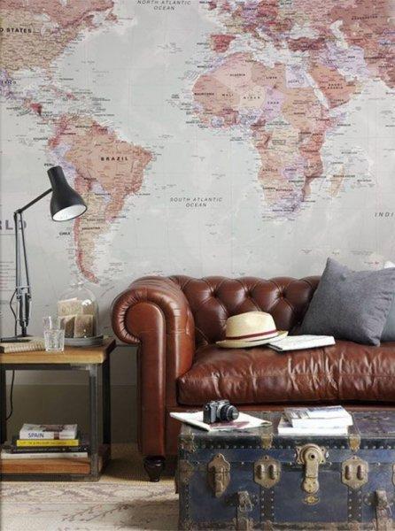 ورق-حائط-بالخريطة-البارزة