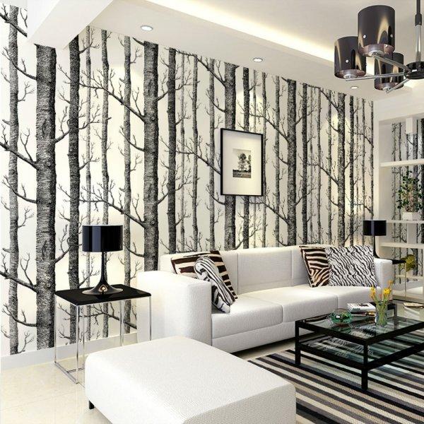 ورق-حائط-ثلاثي-بالاشجار