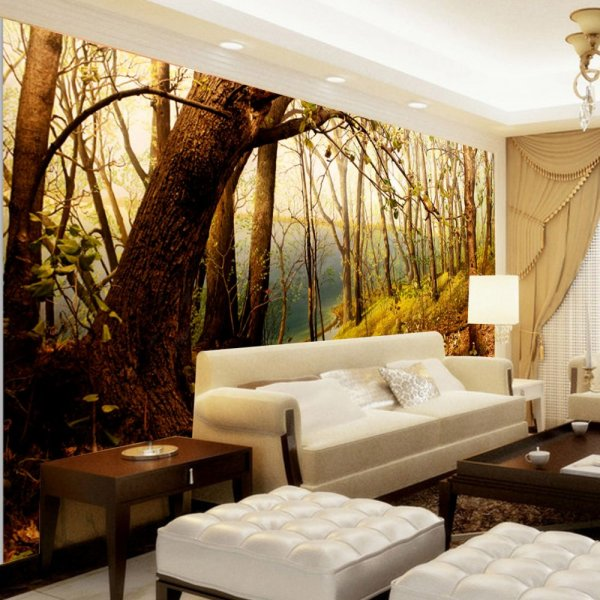 ورق-حائط-على-شكل-الاشجار