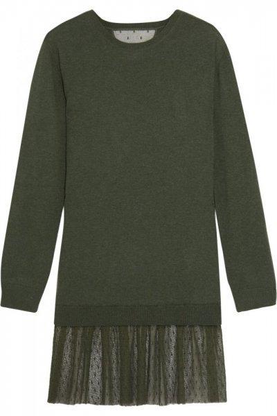 adaff7dae003e طرق تنسيق اللون الزيتي مع الملابس في الشتاء - مشاهير
