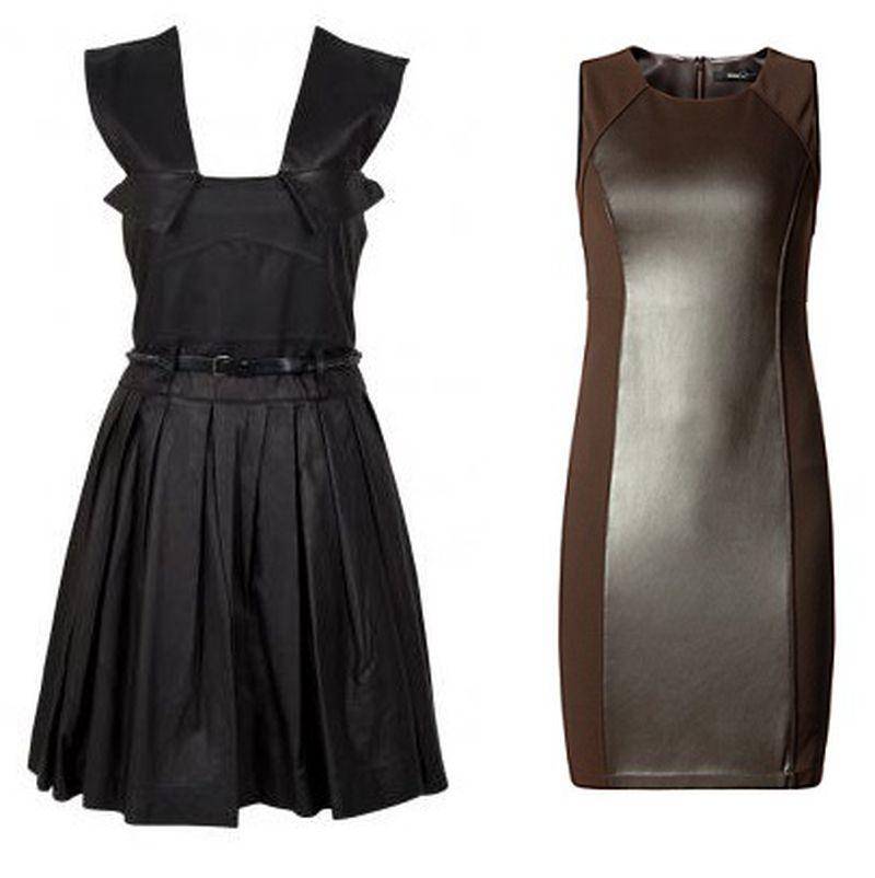 الفستان-الجلد