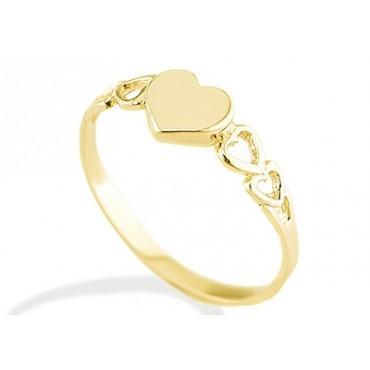 خاتم-على-شكل-قلب