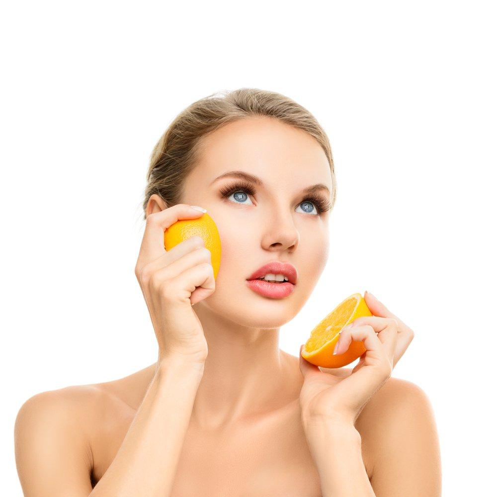 خلطات قشر البرتقال