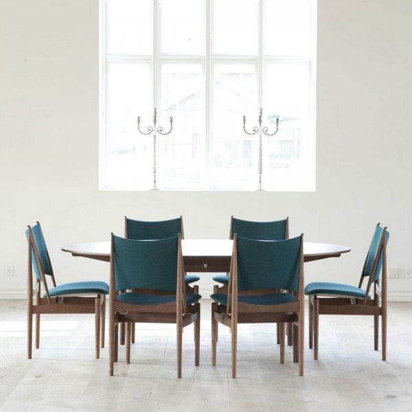 غرفة-طعام-باللون-الازرق