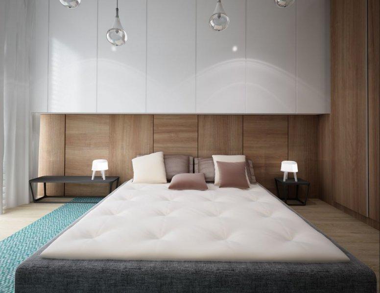 غرفة-نوم-بالجدران-الخشبية