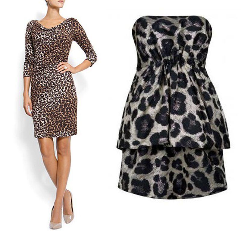 فستان-بنقشة-النمر
