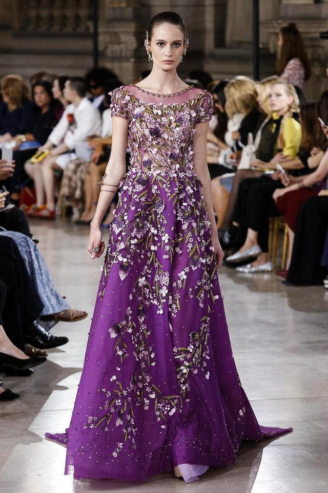 فستان-مطرز