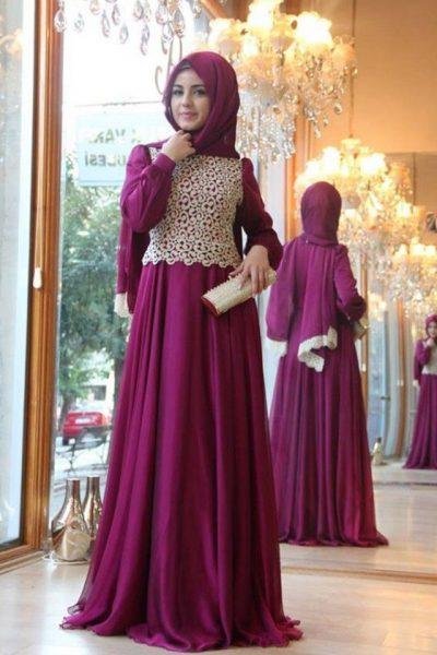 فستان-خطوبة-للمحجبات