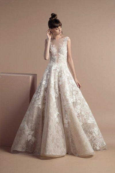 فستان-زفاف-بيج