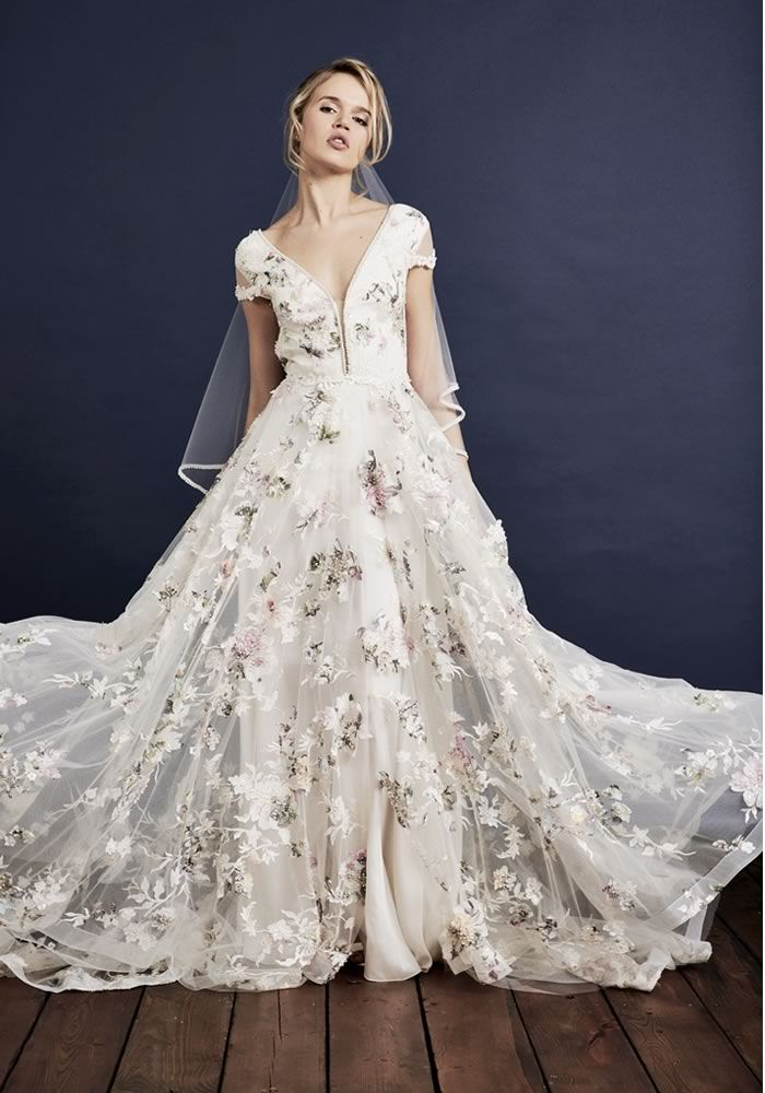 فستان-زفاف-منفوش
