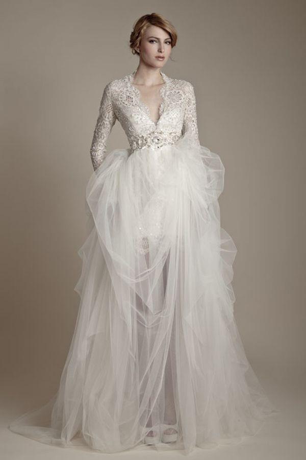 فستان-طبقات-للعروس