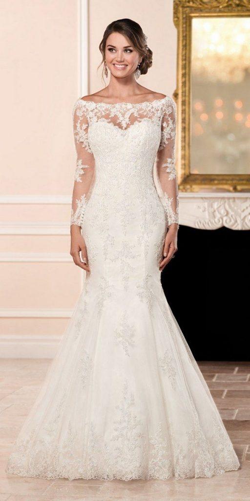 فستان-عروس-ذيل-سمكة