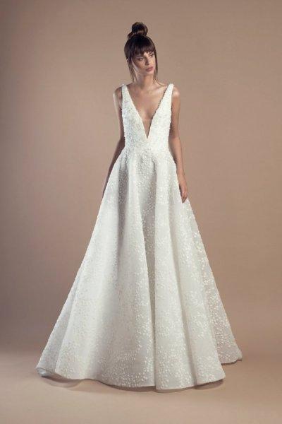 فستان-كت-منفوش-للزفاف