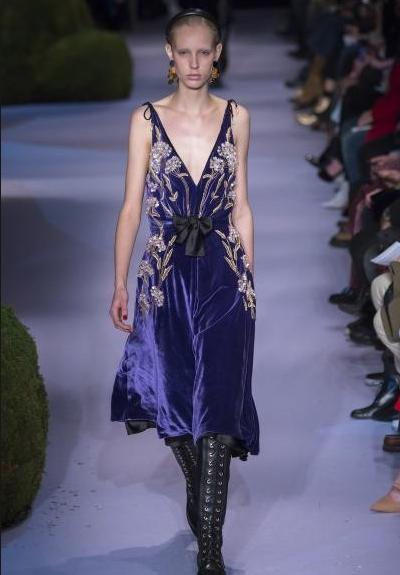 فستان-مخملي
