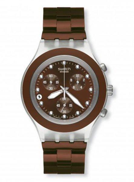 Swatch-Brown-Watch