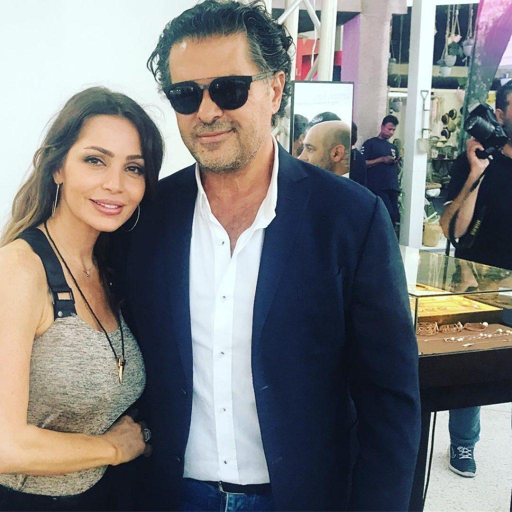 الفنان-اللبناني-و-زوجته